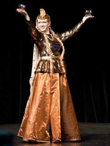 عکس لباس رقص اذری